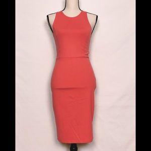 Leith Casual  XS Summer Peach Dress